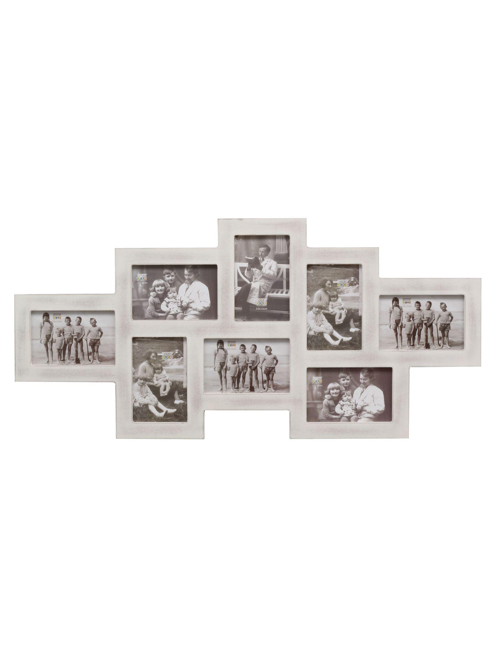 multifotolijst wit hout S67TM1 P8