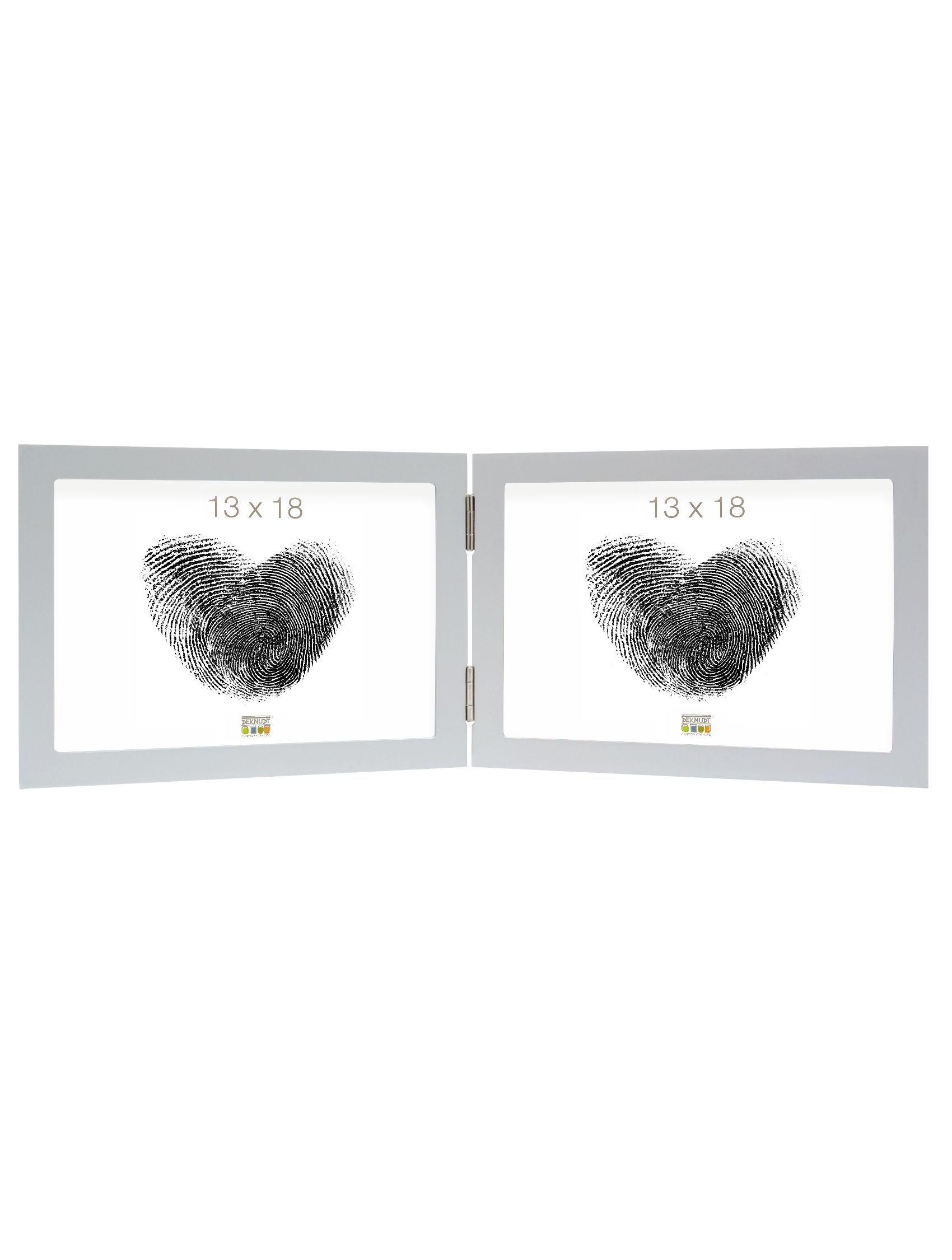 tweeluik zilver hout horizontaal S68FD1 H2H