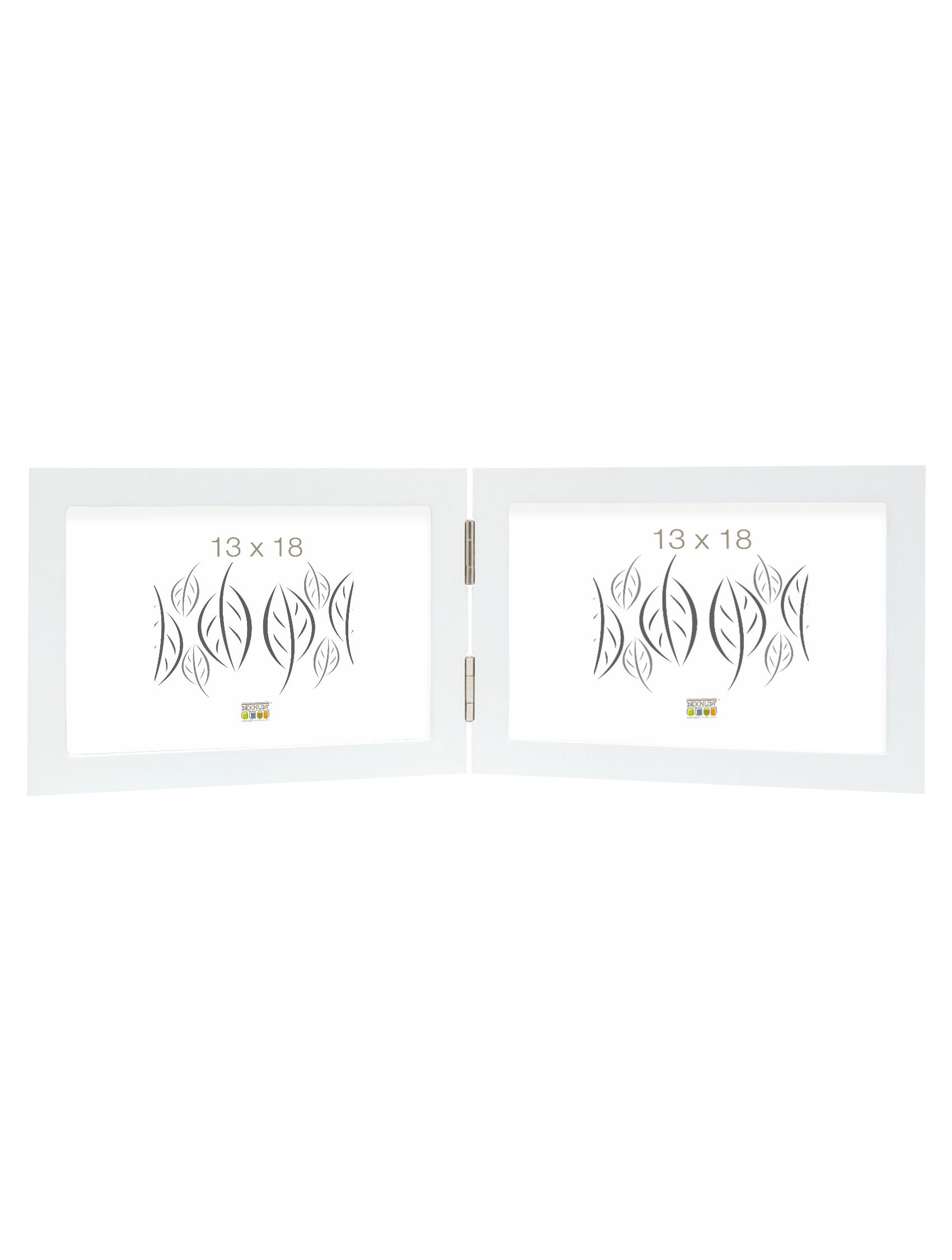 tweeluik wit hout horizontaal S68FK1 H2H