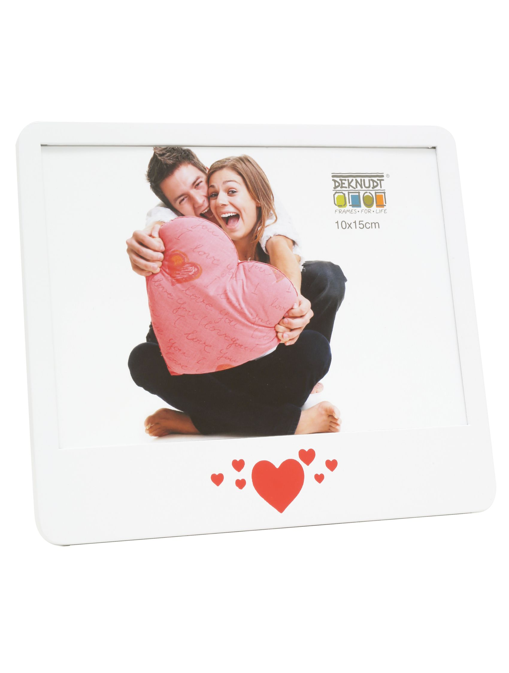 fotokader wit hout met hart S68KK1 E1H