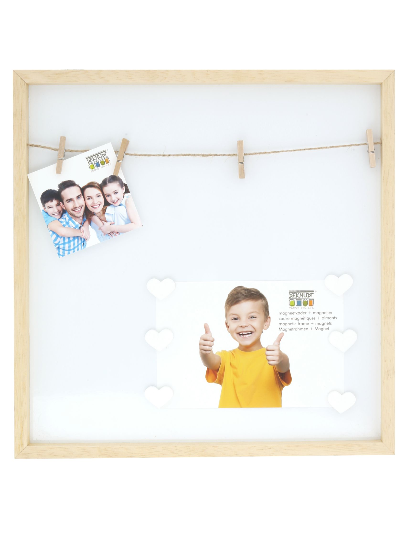 magneetbord naturel hout S68LH1 EA