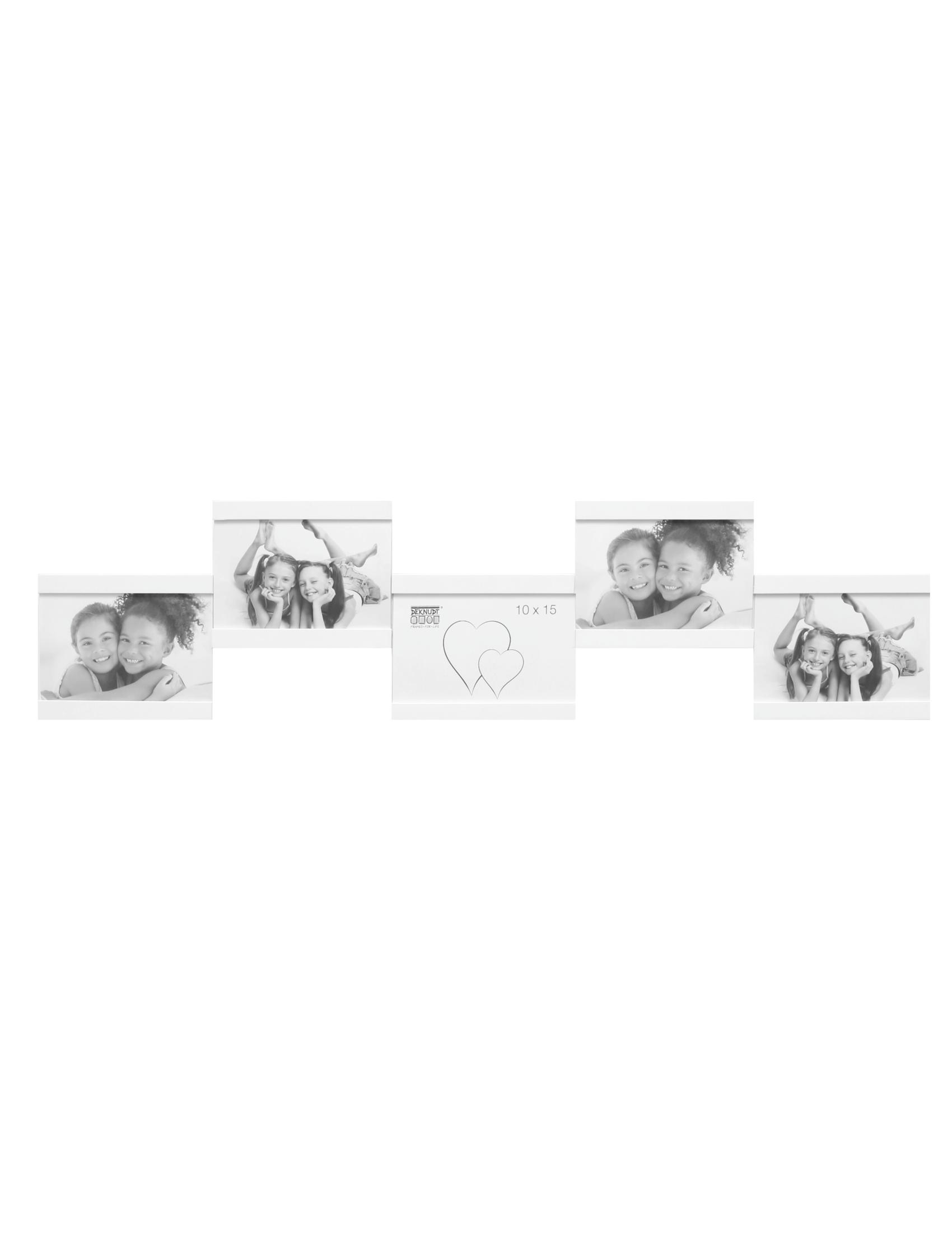 Multifotolijst in wit voor 5 foto's S68RK1 P5