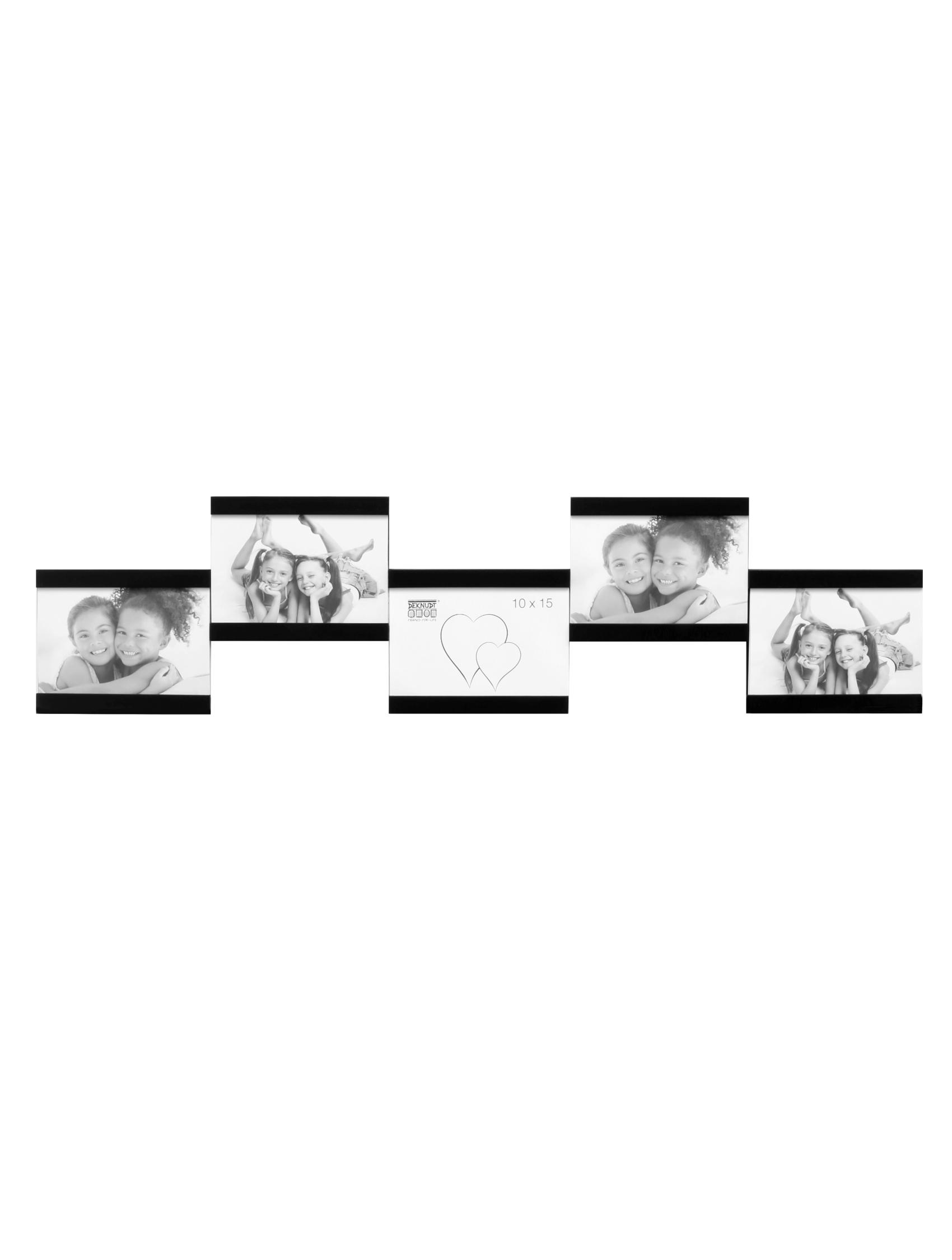 Multifotolijst in zwart voor 5 foto's S68RK2 P5