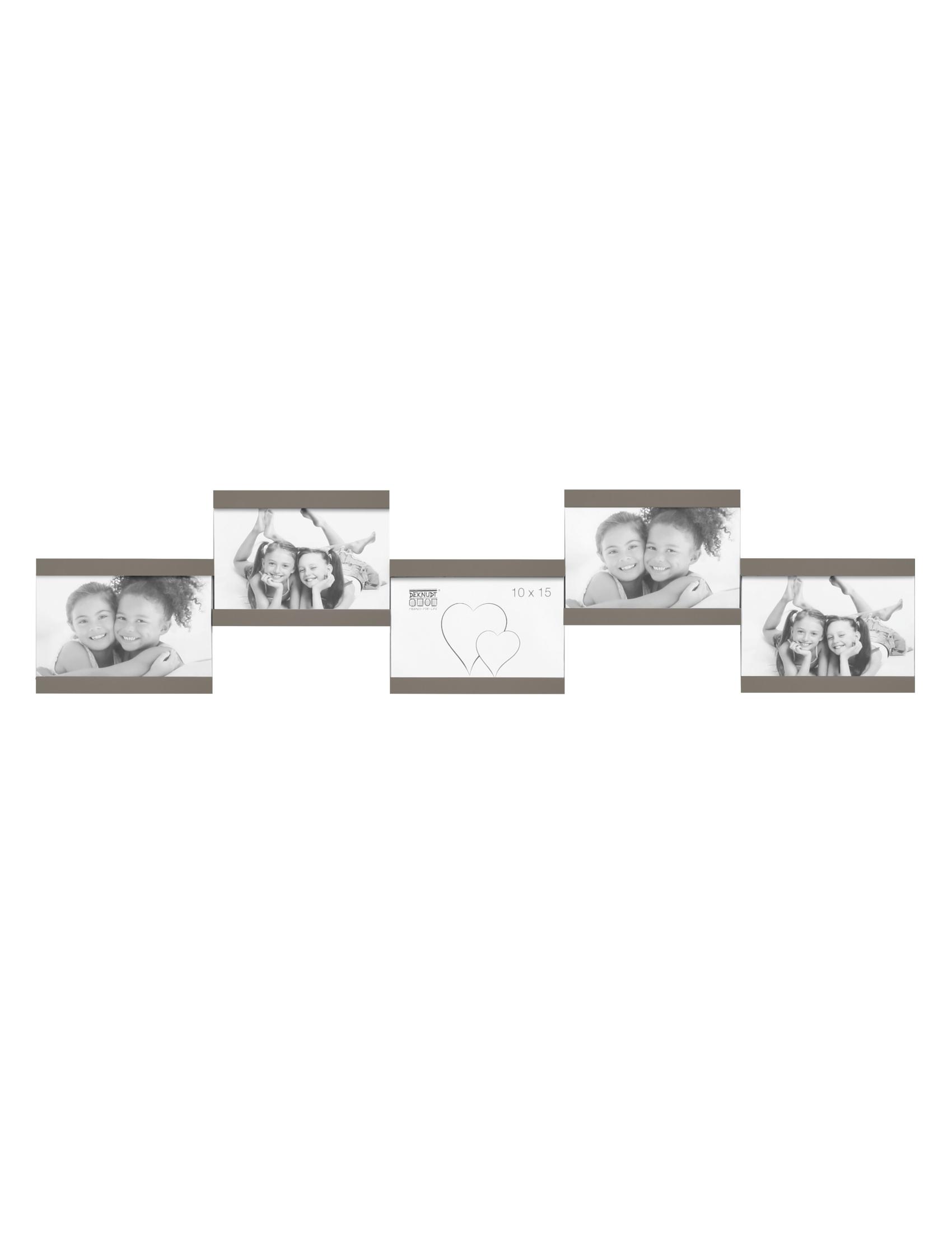 Multifotolijst in taupe voor 5 foto's S68RK9 P5