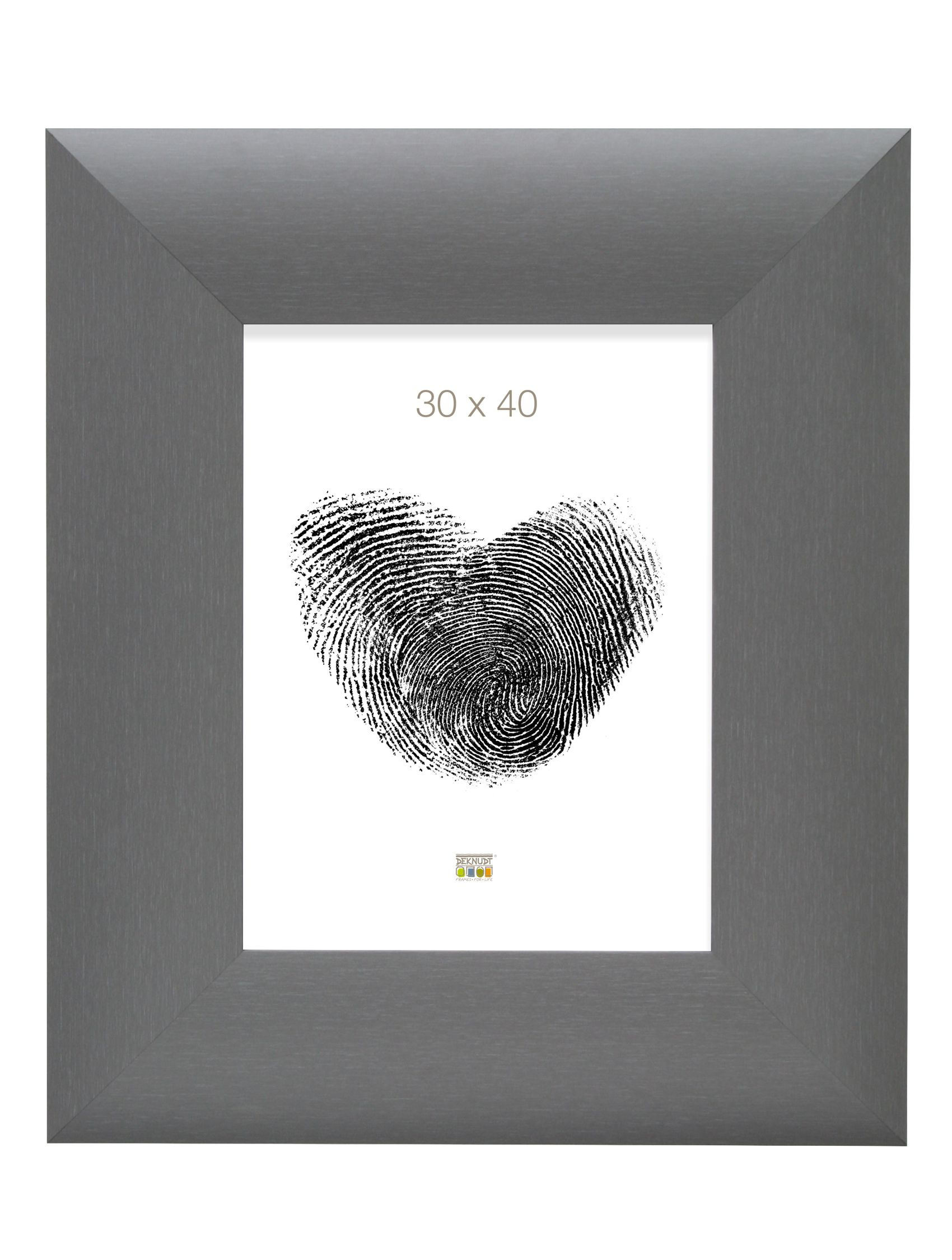 fotolijst grijs, breed hout S79NL7