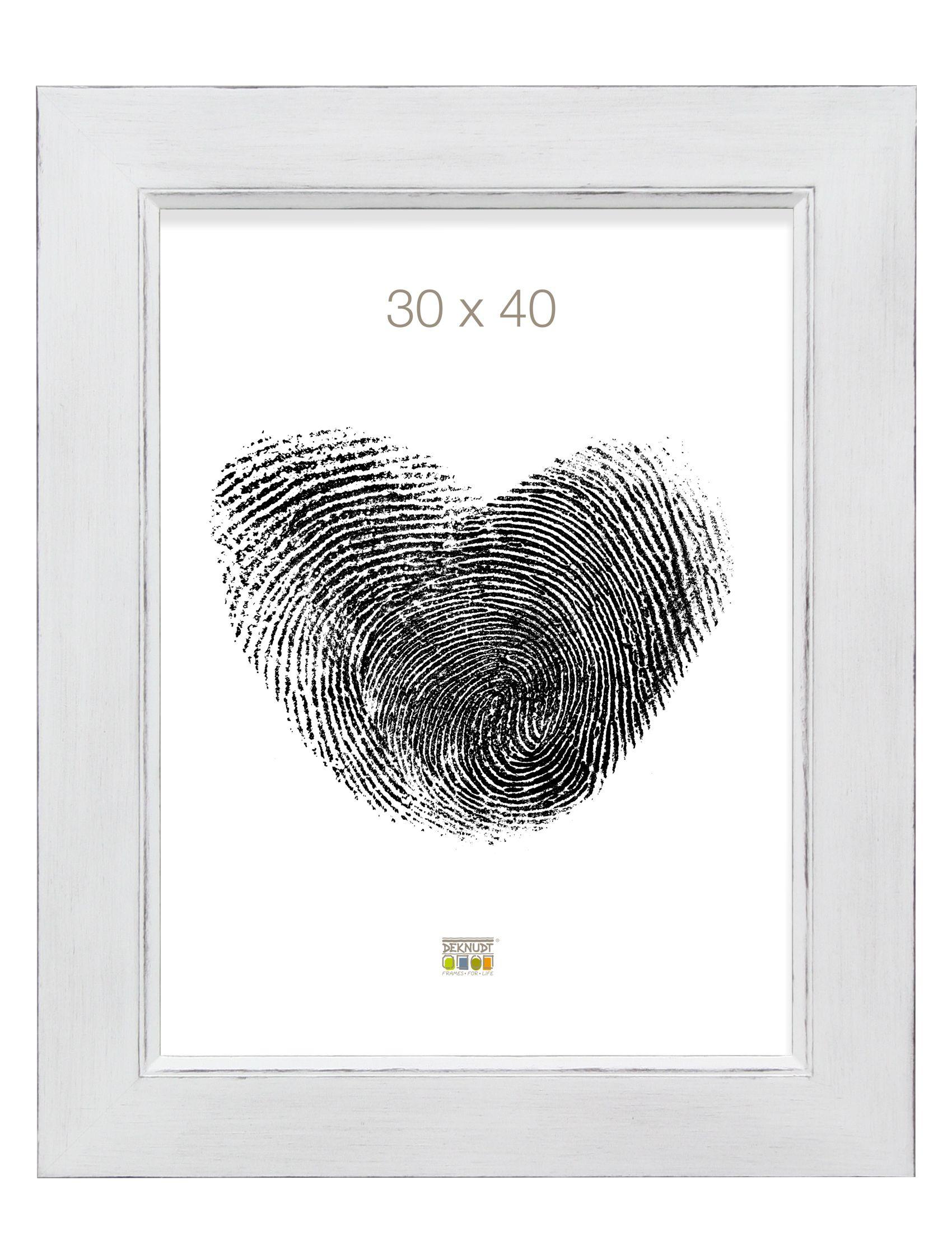 wit geschilderd met doorgewreven randjes S870X1