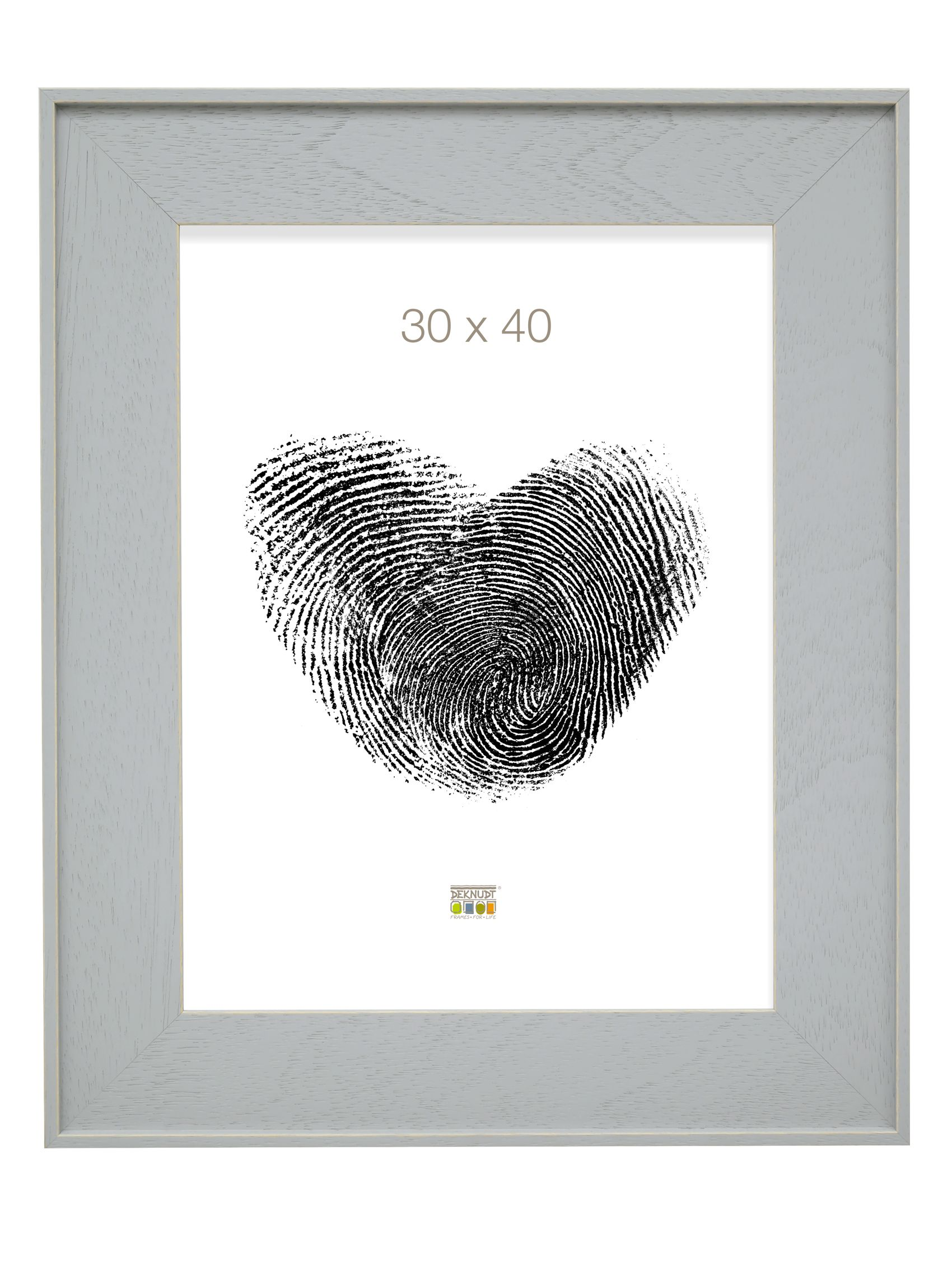 fotokader grijs hout S884S3